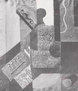 Axel Olson Komposition, Berlin 1923