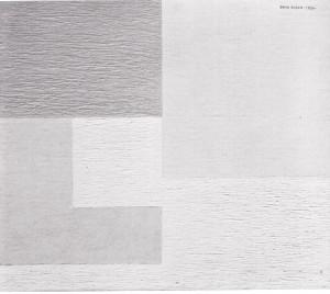 Erik Olson Vit komposition 1930 (neoplastisk)