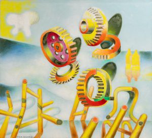 """Himlavagn"" 1980."